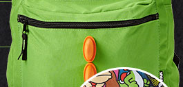 9f3b9de929cd Shop the Flip Pak Reversible Yoshi Backpack!