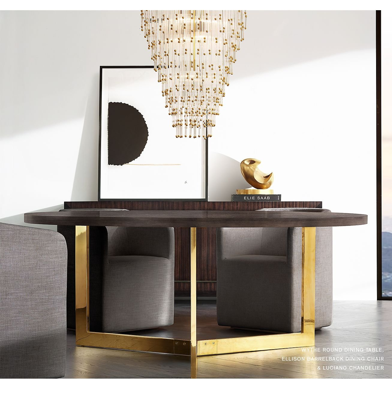 Restoration Hardware The Wythe LiveEdge Dining Table Designed By - Rh modern dining table