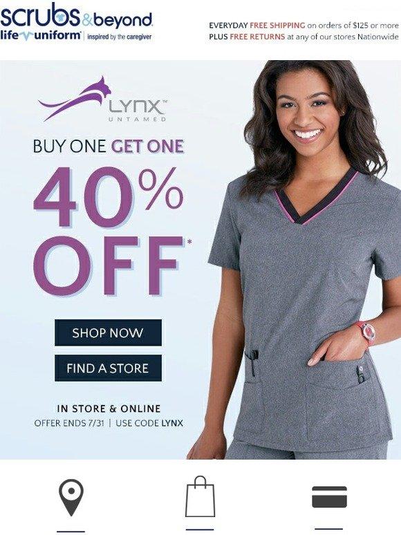 2fd34b86d03 Uniform City: BOGO 40% on Lynx | Milled