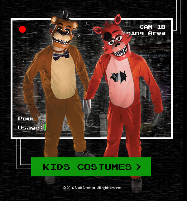 Spirit Halloween: Five Nights at Freddy's | Milled