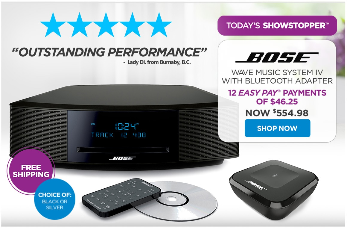 The Shopping Channel: Today's Showstopper™ - Bose | Milled