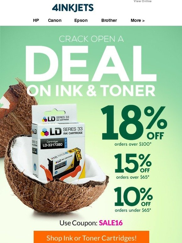 4inkjets coupons 15