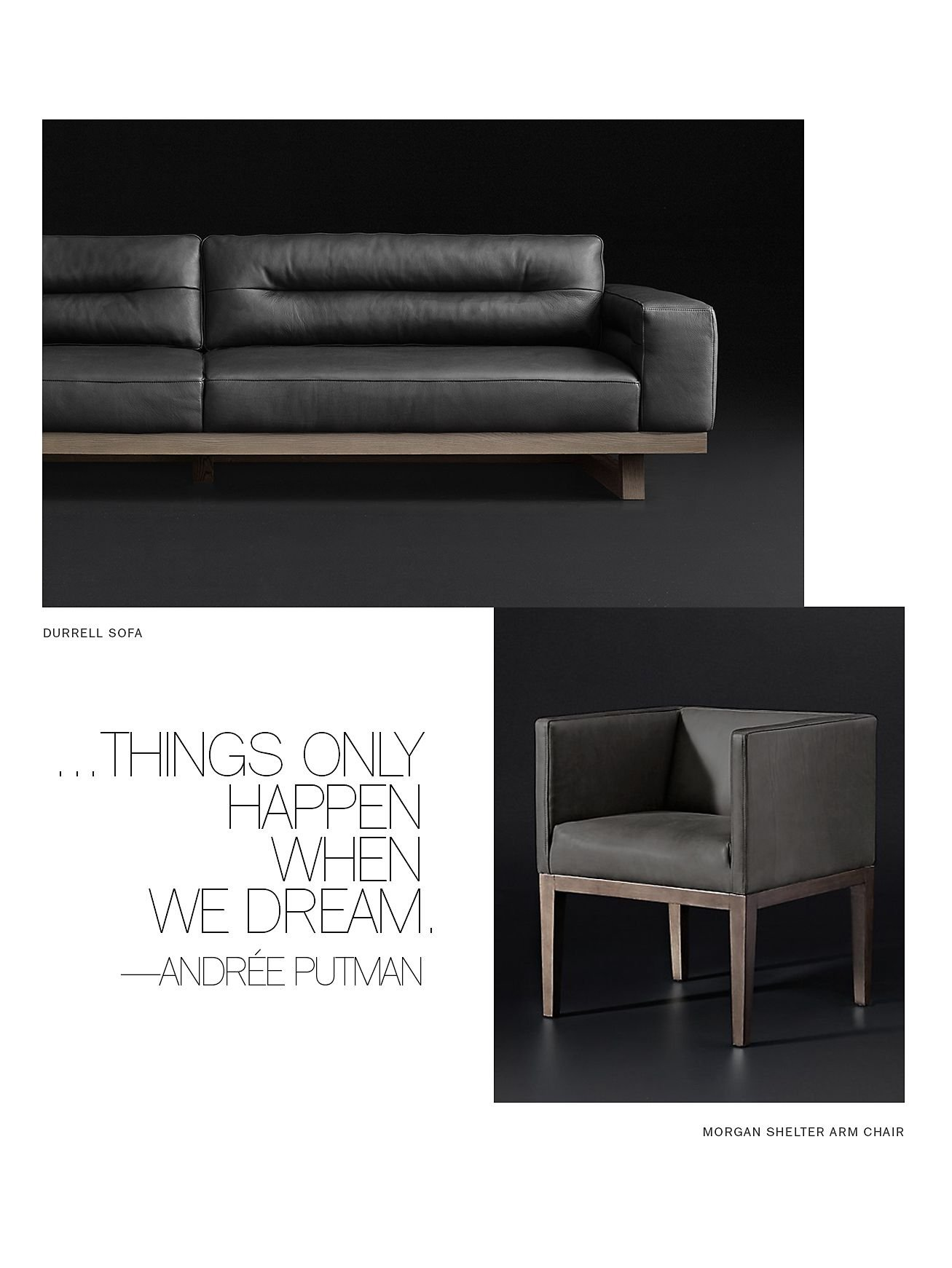 Restoration Hardware The Durrell Sofa Designed by Timothy Oulton