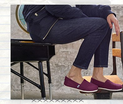 f2cbc76fcdd TOMS  They re here! Back-to-school styles
