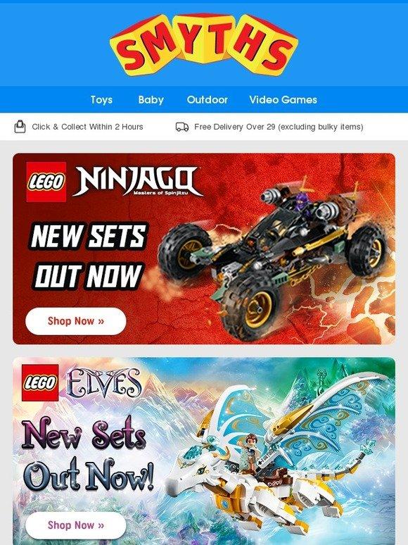 Smyths Toys Hq New Lego Ninjago Amp Elves Plus Last Chance