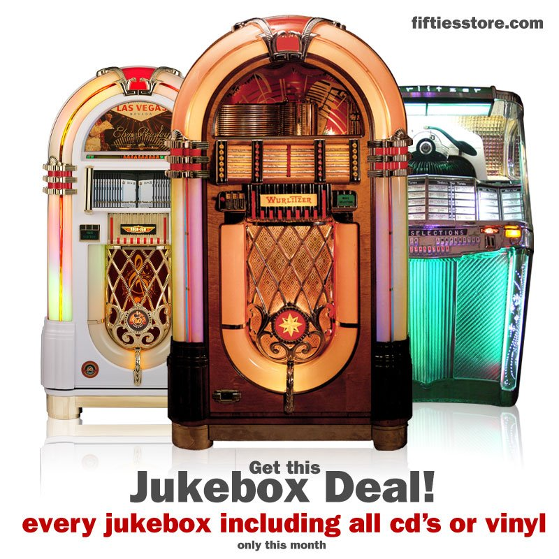 Fifties Store: 🎶 Fifties Store - Jukebox Special | Milled