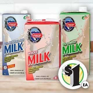 Gossner Foods Premium Whole Milk