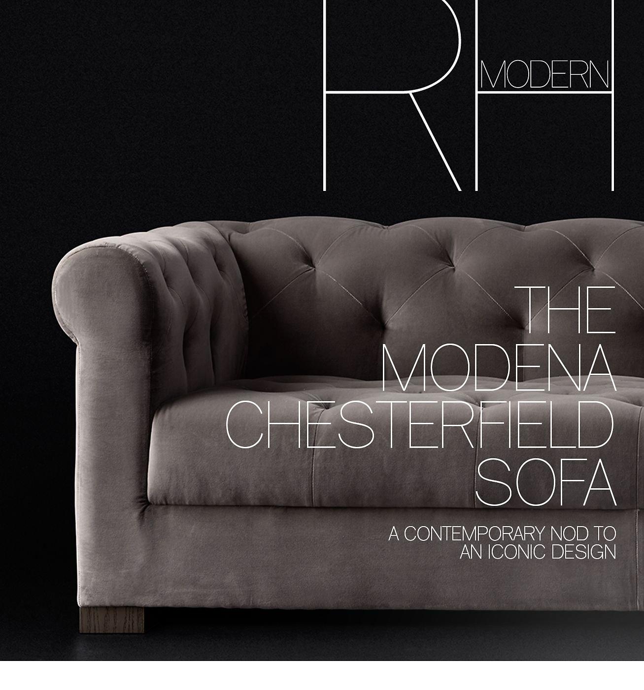 Explore The Modena Chesterfield Sofa