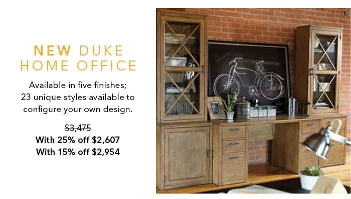 Our New Duke Home Office