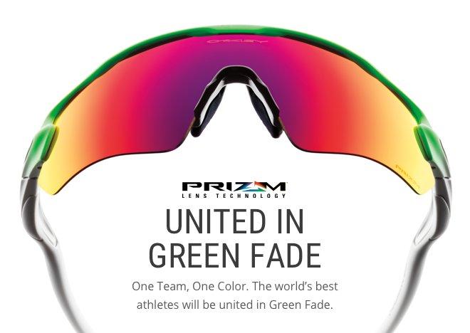 UNITED IN GREEN FADE