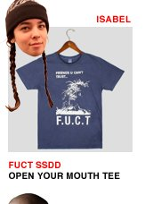 FUCT SSDD Open Your Mouth Tee