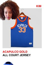 Acapulco Gold All Court Basketball Jersey
