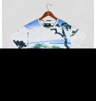10 Deep Hokusai Tee