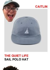 The Quiet Life Sail Polo Hat