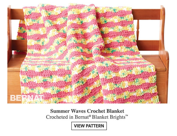 Free Crochet Patterns From Joann Fabrics : Jo-Ann Fabric and Craft Store: Bright Ideas from Bernat ...