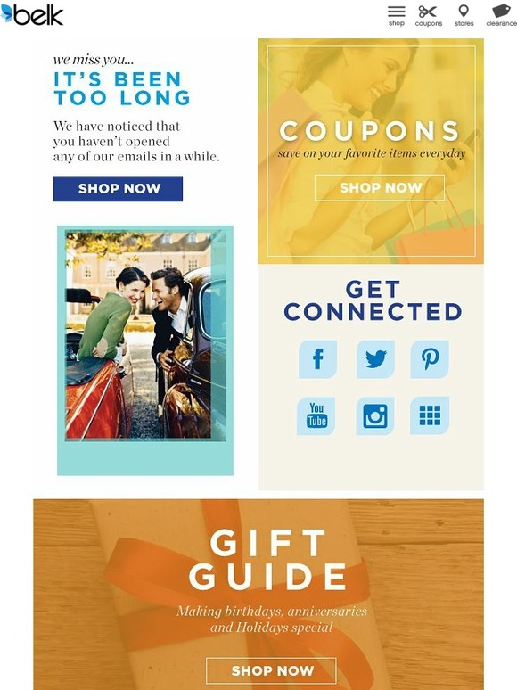 Check out the wedding shop for items for your special day, or shop 24/7 for the best prices on great brands like Ralph Lauren and Michael Kors. Join the Belk Elite Rewards program for special deals and sales, including free shipping on every order. And use Belk online coupons to save more on every order/5(18).