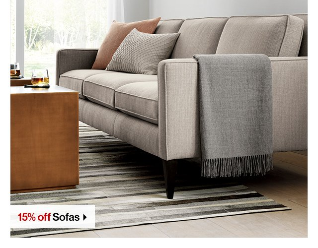 crate and barrel 15 off sofas sectionals chairs and chaises