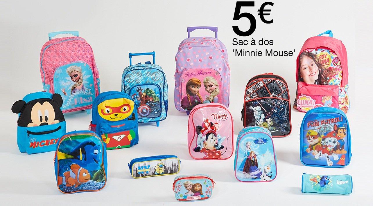 design intemporel da13a 9b87f Kiabi: VENTE FLASH sur les sacs et cartables ! | Milled