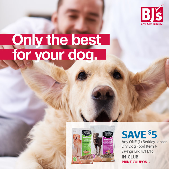 BJs Wholesale Club: National Dog Day Is This Friday, Save