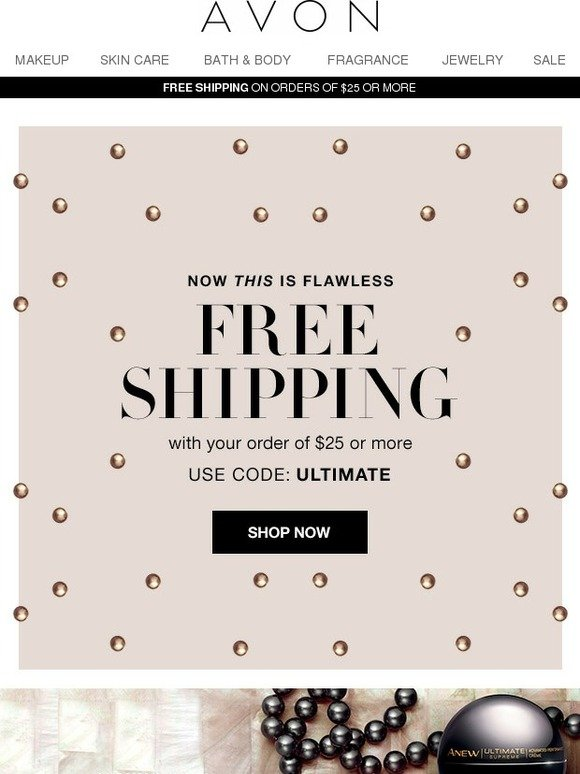 Avon: Free shipping + Free samples = ULTIMATE | Milled