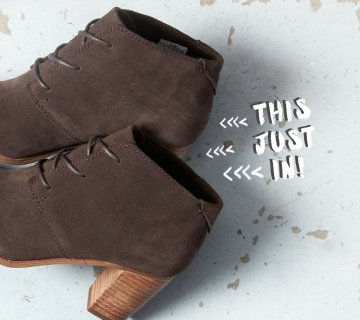 ab25027eb9b TOMS  New suede booties
