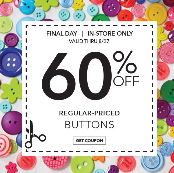 Jo ann fabric and craft store you 39 re getting another for Home decorators coupon 50 off 200