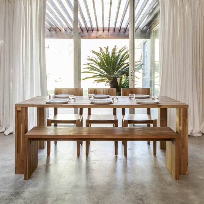 Mash studios pch series dining tables and chairs