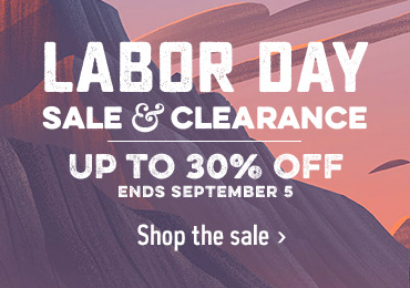 LABOR DAY SALE & CLEARANCE - UP TO 30% OFF - ENDS SEPTEMBER 5 - Shop the sale
