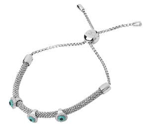 Links of London Starlight Sterling Silver and White Sapphire Bracelet