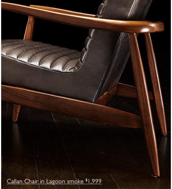 Callan Chair In Lagoon Smoke $1,999: Http://www.roomandboard.com