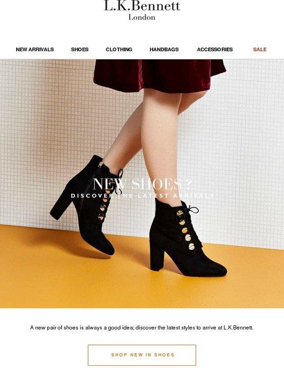 L.K.Bennett: 50+ New Shoes Now Online