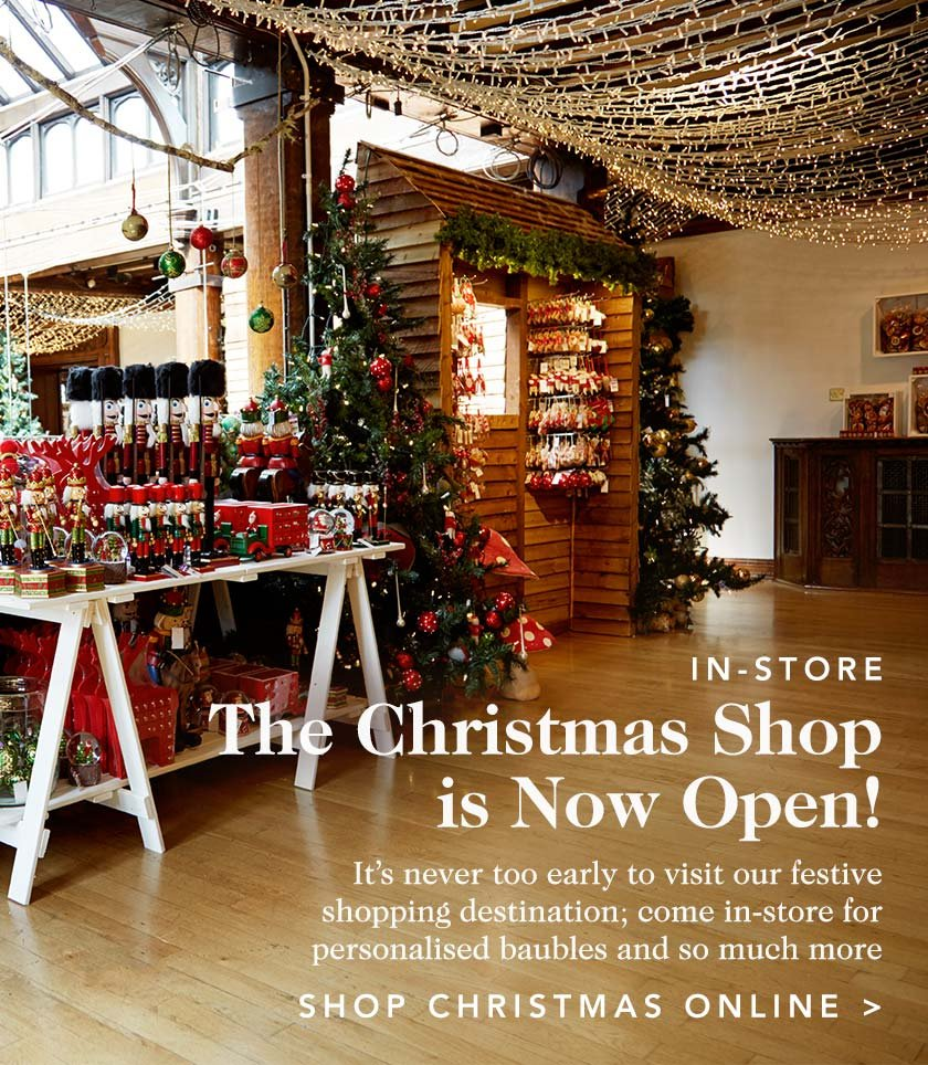 the christmas shop is now open - The Christmas Shop