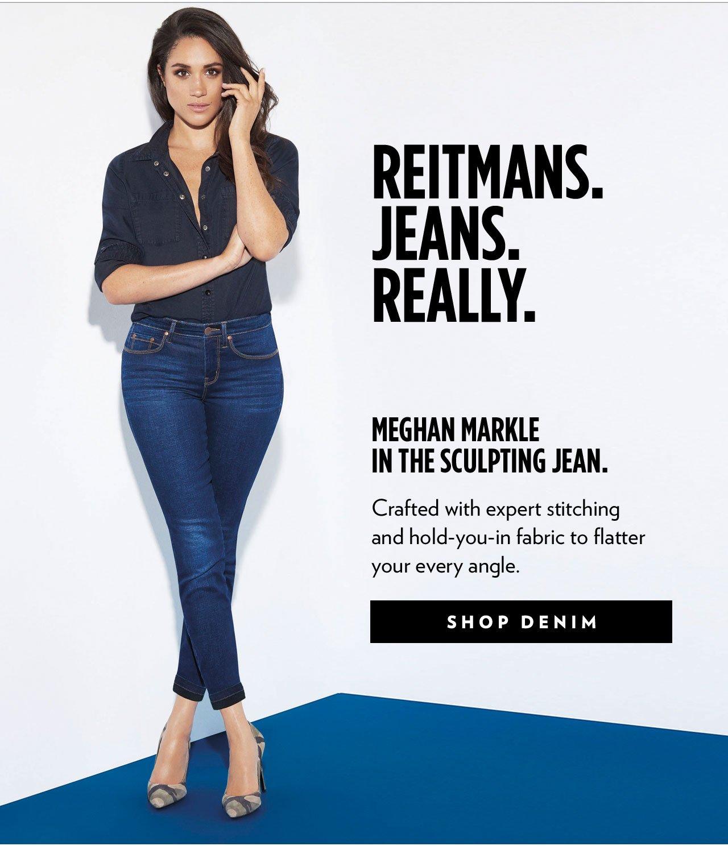 Reitmans: We've Got Denim For Everyday (Literally).