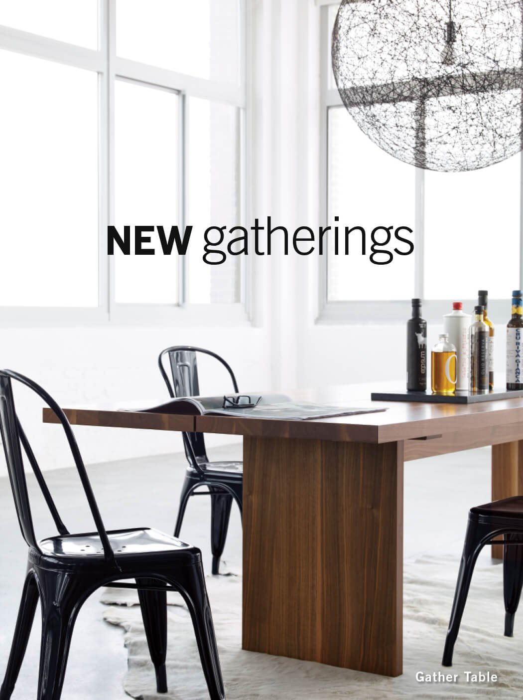New Gatherings   Gather Table