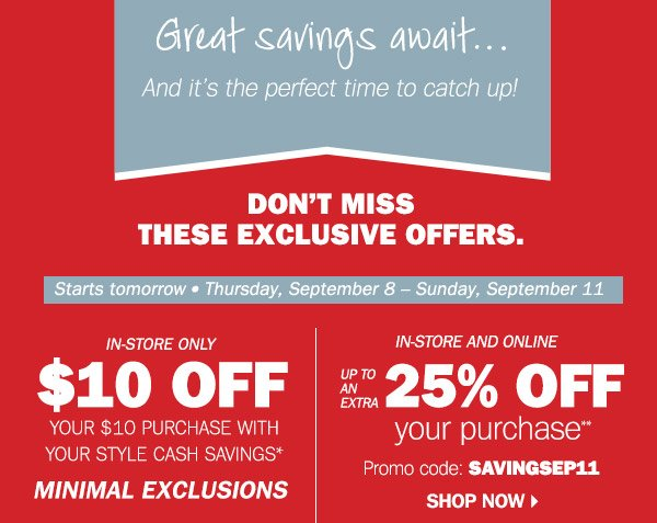 younkers we miss you enjoy this 10 off 10 coupon milled