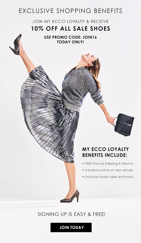 Ecco Usa Shoes 24 Hours Only 10 Off Sale Shoes Join My