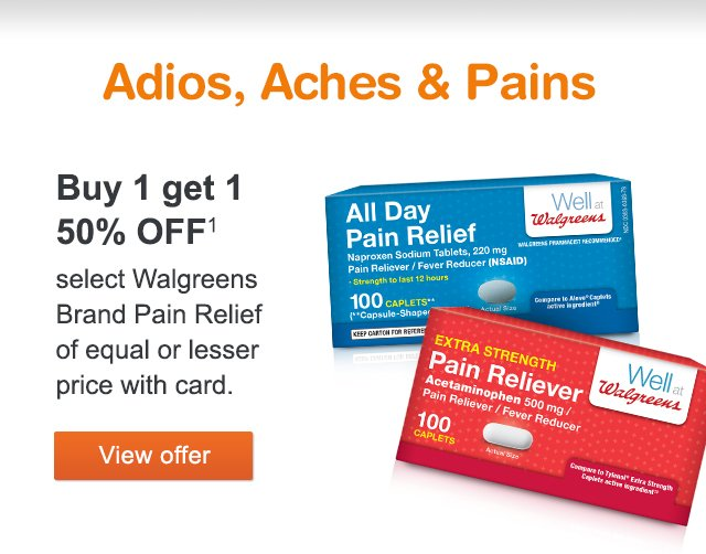 Walgreens: Weekly Ad Deals | Save big and feel better with