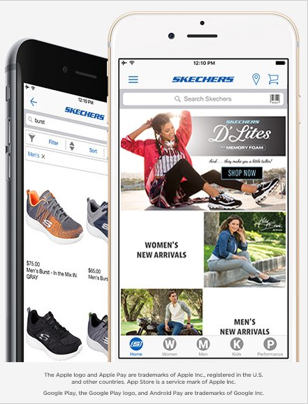 SKECHERS: Download the All New SKECHERS Mobile App and Get