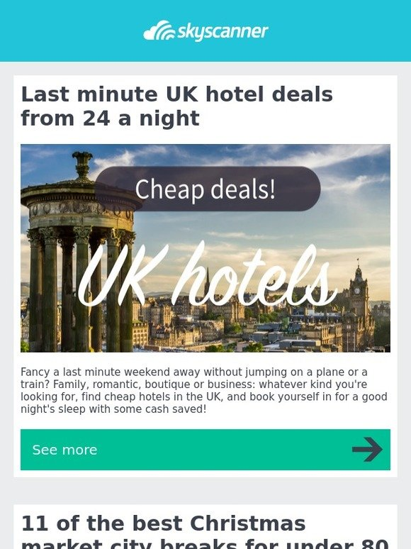 Last minute lodge deals uk