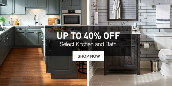 Lowes: Your Favorite Rooms Are Up to 40% OFF | Milled