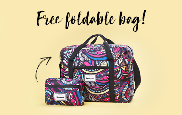 Take home this bag as a gift!