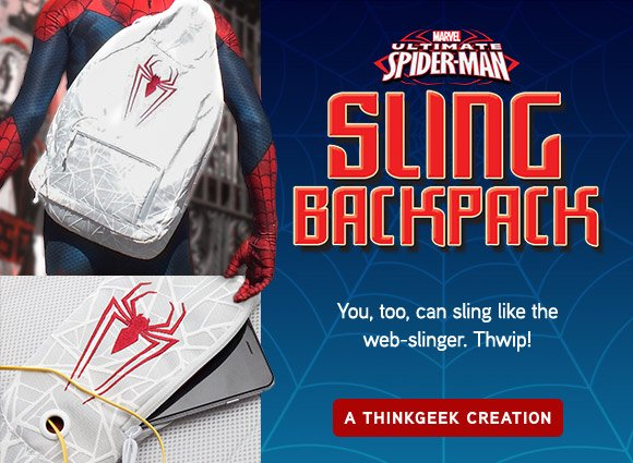 ThinkGeek  Don t be left hanging without your stuff! Snag our Spider ... e65668be13930