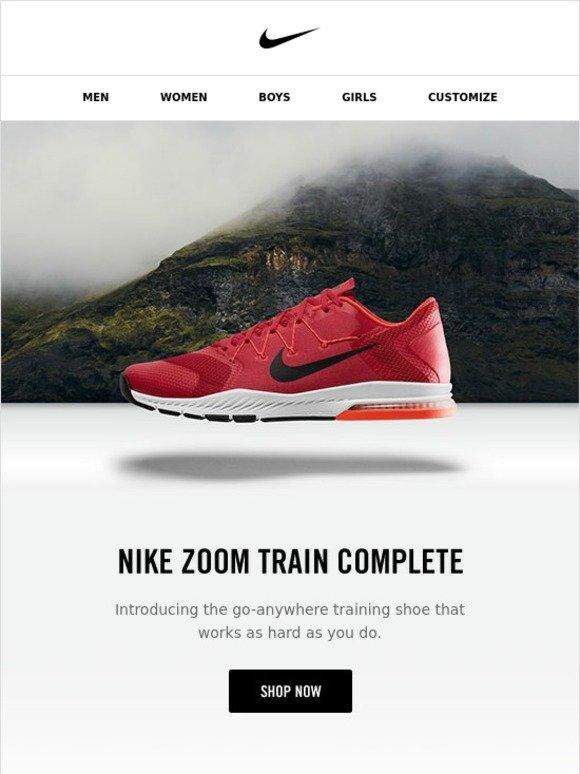 b58eb2d45e2 Nike  The Nike Zoom Train Complete