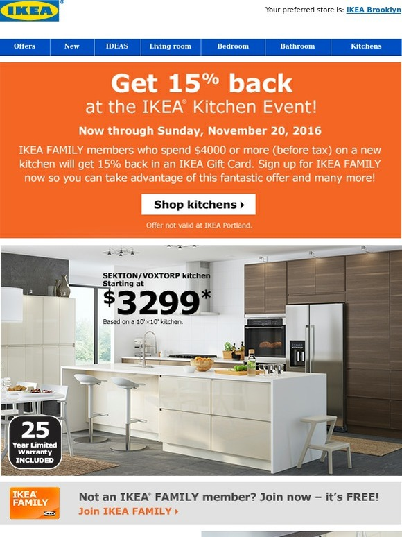 Ikea Sizzling Savings At The Ikea Kitchen Event Milled