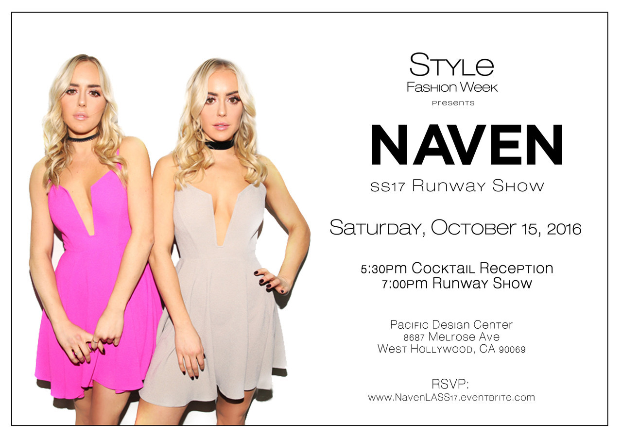 Naven You Re Invite To La Fashion Week Milled