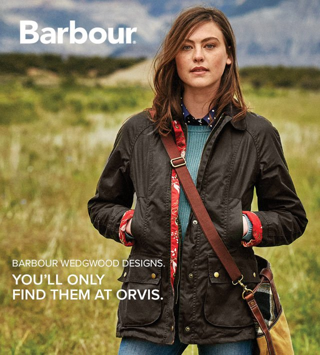 orvis barbour