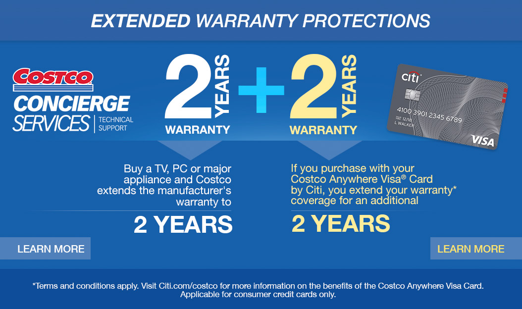 Costo: Extended Warranty Protections On TVs, Computers