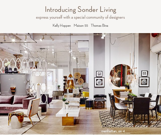 ABC Carpet Home Kelly Hoppen Launches Retrospective At The New Sonder Living Oct 26th