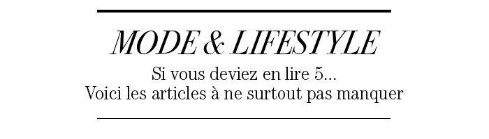 MODE & LIFESTYLE