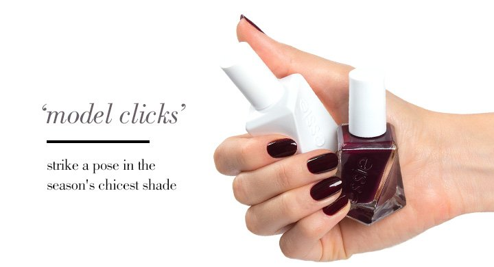 'model clicks' | strike a pose in the season's chicest shade
